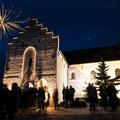 Billede af kirke ved nytår